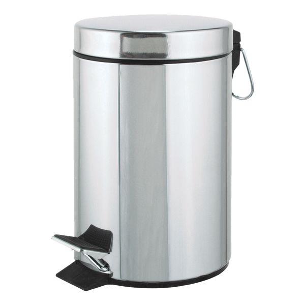 Pedaalemmer 3 liter glanzend