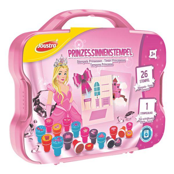 Joustra Prinsessenstempels 26 stuks in kunststof koffer