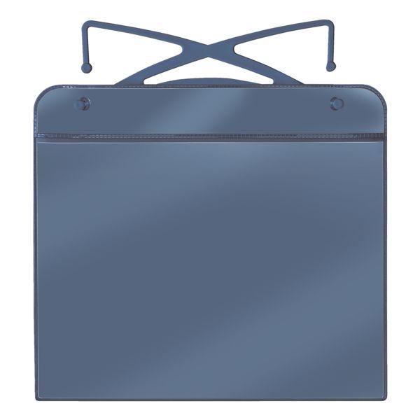 Veloflex Pak met 20 hoezen voor gaascontainers met beugels A5 liggend »3805000«
