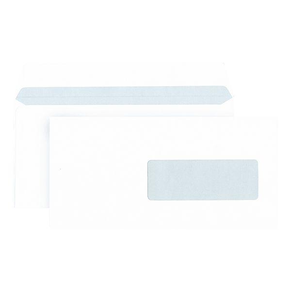 Enveloppen Mailmedia, DLplus 80 g/m² met venster - 500 stuk(s)