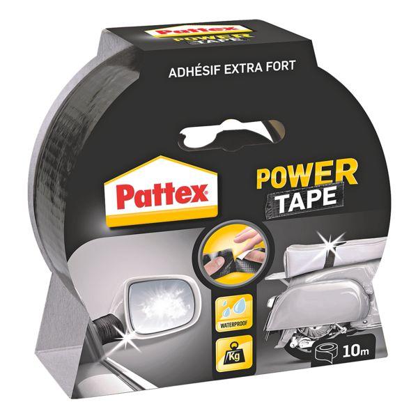 Pattex Ruban adhésif « Power Tape »,  10 mm/25 m (B/L)