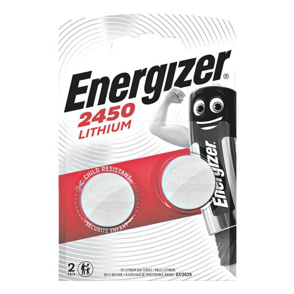 Energizer Piles bouton « Spezial Lithium » CR 2450