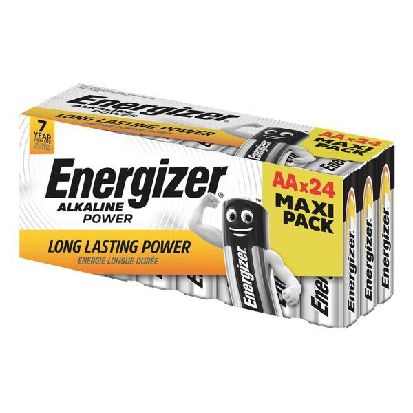 Energizer Paquet de 24 piles « Alkaline Power » Mignon / AA
