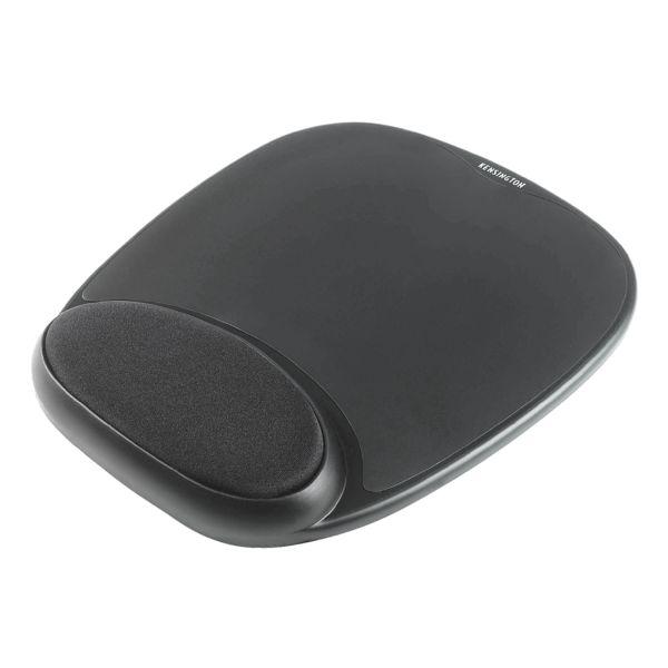 Kensington Tapis de souris en gel intégré « Ergonomic Black »