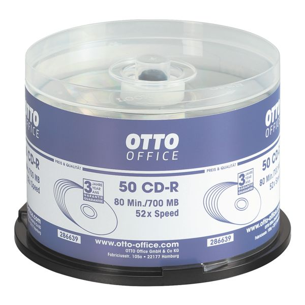 OTTO Office CD vierges « CD-R »