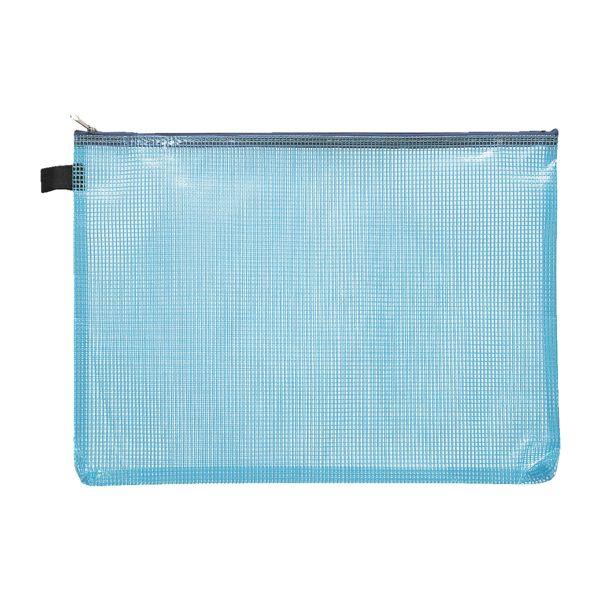 Foldersys Pochette à fermeture éclair A4 « Fresh Colour »