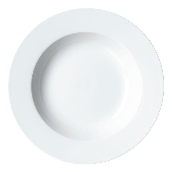 Ritzenhoff & Breker Lot de 4 assiettes à soupe « Bianco »