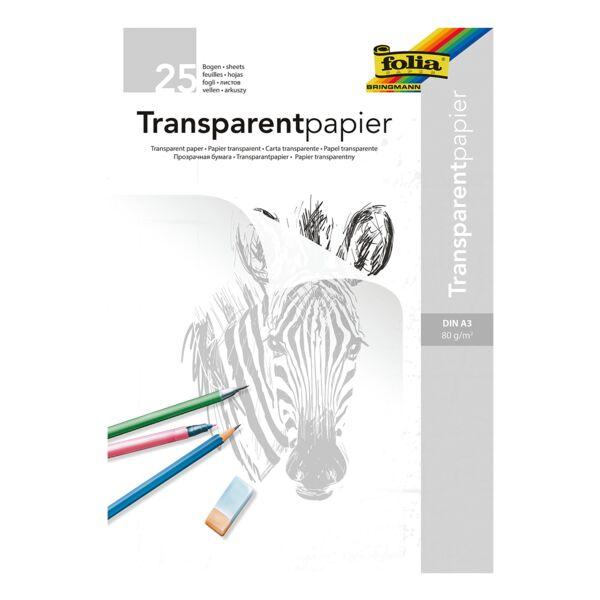 folia Papier transparent A3