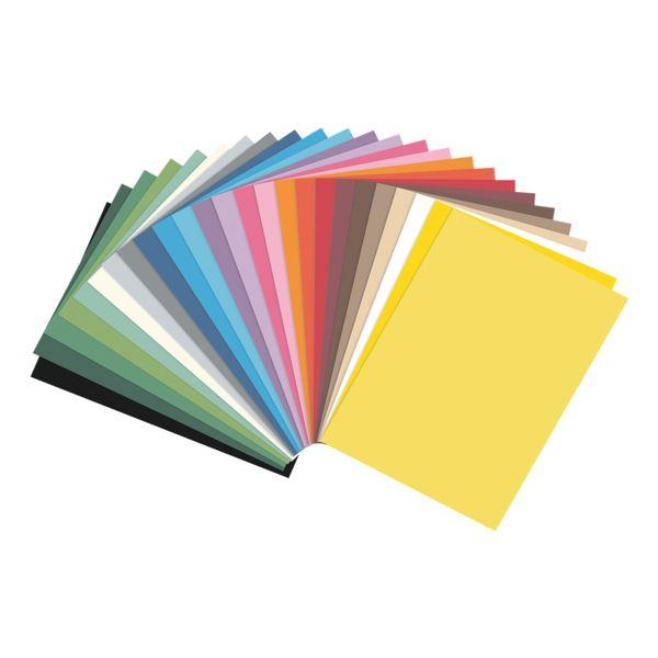 folia Papier cartonné avec 25 couleurs