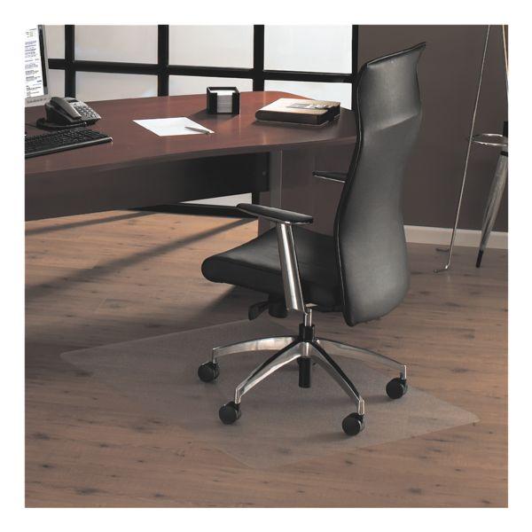 plaque protège-sol pour sols durs, polycarbonate, rectangulaire 75 x 119 cm, OTTO Office