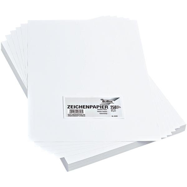 folia Papier à dessin format A3, 250 feuilles