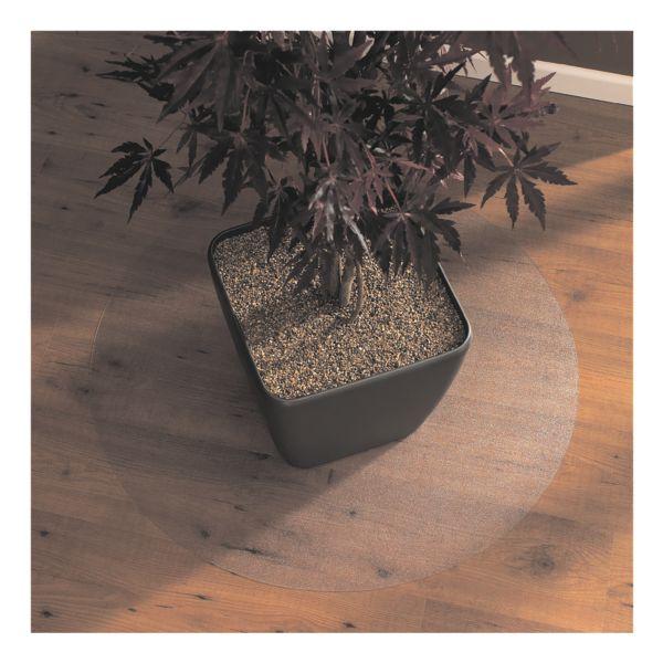 plaque protège-sol pour sols durs, polycarbonate, rond 120 x 120 cm, OTTO Office Standard