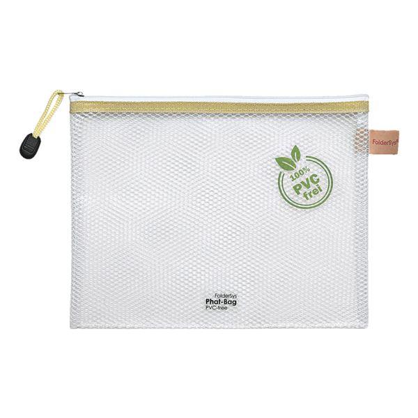 Foldersys Pochette à fermeture éclair A5 « Phat-Bag » (sans PVC)
