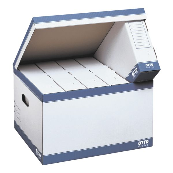 OTTO Office Cartons à couvercle rabattable « small » - 10 pièces