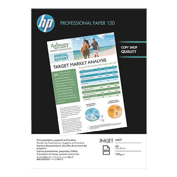 HP Papier jet d'encre «HP Professional 120 matt», A4 120 g