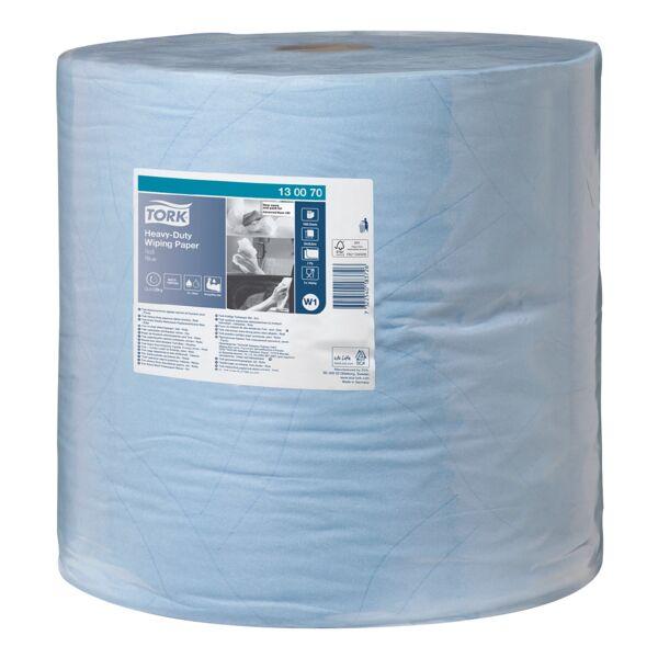 Tork Chiffons industriels bleu double épaisseur  37x34 cm (1x 1000 essuie-tout)