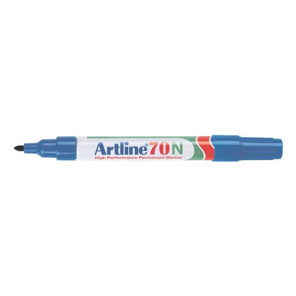 Artline marqueur indélébile 70N - pointe ogive, Epaisseur de trait 1,5 mm