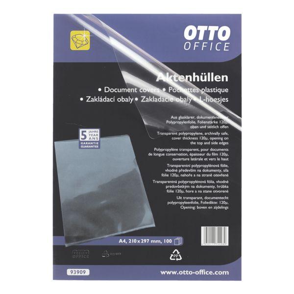 OTTO Office Premium Chemises transparentes « Premium » - transparent