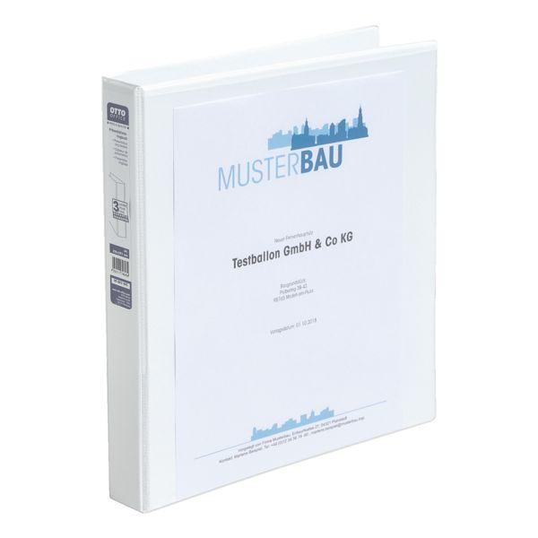 OTTO Office Classeur de présentation jusqu'à 100 feuilles 4 anneaux