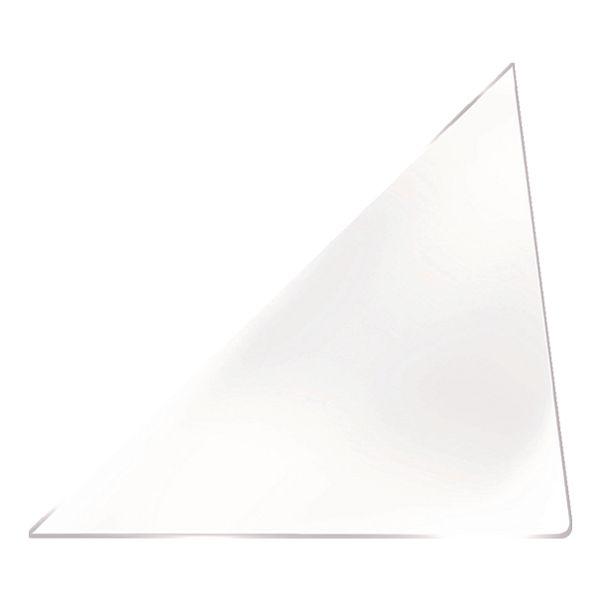 Probeco 25 pochettes triangulaires autocollantes 140x140 mm